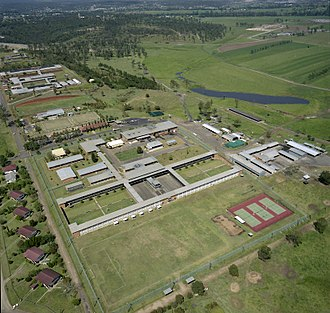 Brisbane Correctional Centre - Aerial View of Brisbane Correctional Centre, October 1988