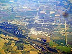 Aerial view of Fremont, Nebraska, June 2017.JPG