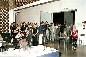 Aeronwy Thomas - Aeronwy Thomas' Poetry Reading in Turin, Italy, 2006