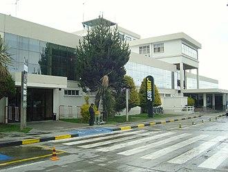 El Alto International Airport - Old terminal.