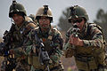Afghan National Army Special Forces (ANASF) members with the 6th Special Operations Kandak practice clearing a room during a training exercise in Kabul, Kabul province, Afghanistan, Nov. 26, 2013 131126-A-HT102-207.jpg