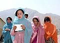 Afghan girls in Nangarhar-cropped.jpg