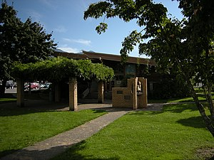 Agassiz, British Columbia - Image: Agassiz, BC District of Kent District Hall and Public Library