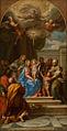 Agostino Masucci - A Santíssima Trindade, com a Virgem e Santos.JPG