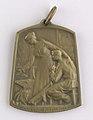 Aide et Apprentissage des Invalides de la Guerre 1914-1918 Section Brabançonne, medal by Jacques Marin (1877-1950), Belgium, 1916, Coins and Medals Department of the Royal Library of Belgium, 2Lef 104-43 (recto).jpg