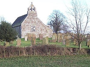 Grade I listed buildings in Cumbria - Image: Aikton Church. geograph.org.uk 119914