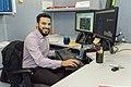 Aiman Mahmoud at his workstation (49357453867).jpg