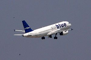 An Airblue A320-200 taking off from Allama Iqb...