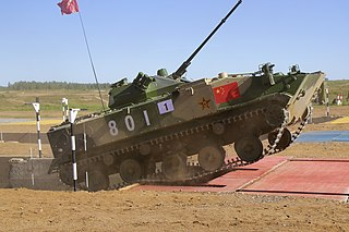 airborne armored infantry fighting vehicle
