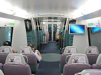 MTR Adtranz–CAF EMU - Image: Airport Express train interior 2011