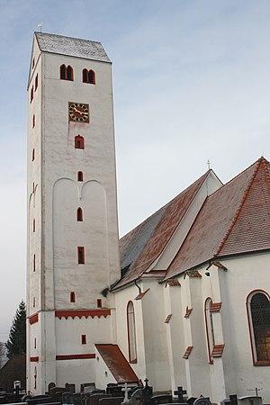 Aislingen - Church of st. George in Aislingen
