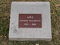Ajka-Rovaniemi maalaiskunta 1990-2000 emléktábla, 2019 Ajka.jpg