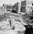 Akka (Acre, Accho). The castle moat. On north side. approximately 1920 to 1933. matpc.02820.jpg