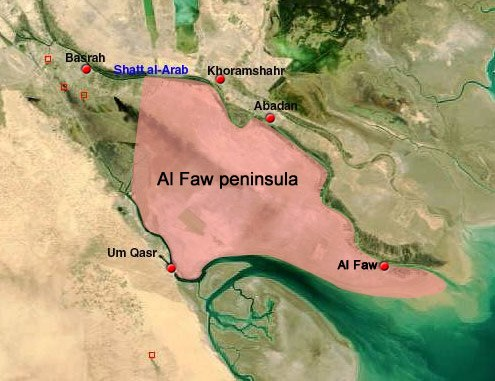 Al-Faw Peninsula, Iraq