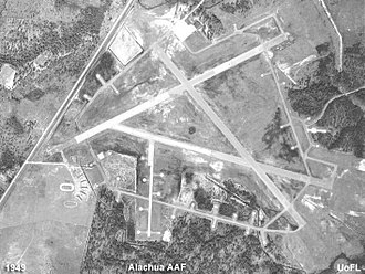 Gainesville Regional Airport - Alachua Army Airfield in 1949