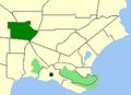 Albany-Orana map.png