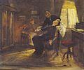 Albert von Keller - Hypnose bei Schrenck-Notzing - ca1885.jpeg