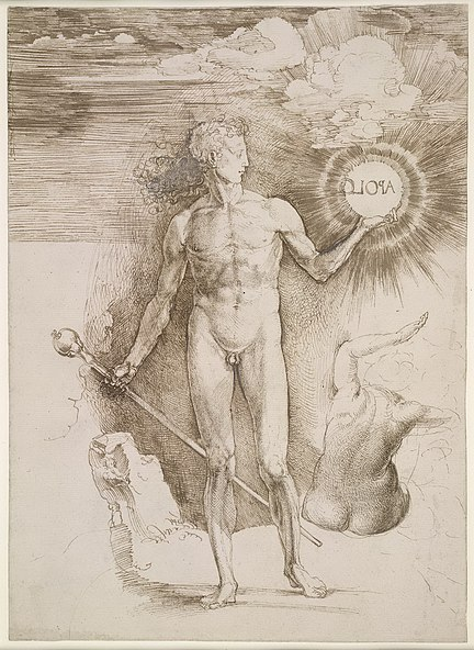 File:Albrecht Dürer - Apollo with the Solar Disc - WGA7055.jpg