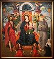 Alesso di benozzo, madonna in trono tra i ss. g. battista, francesco, angeli musicanti e donatore francescano (pala rigoli), 01.jpg
