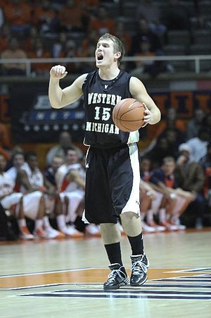 2009–10 Western Michigan Broncos men's basketball team - Diamond Head Classic surprise Alex Wolf, in a game against the University of Illinois.