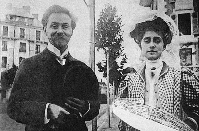 Alexander Scriabin and Tatiana Schloezer, 1909