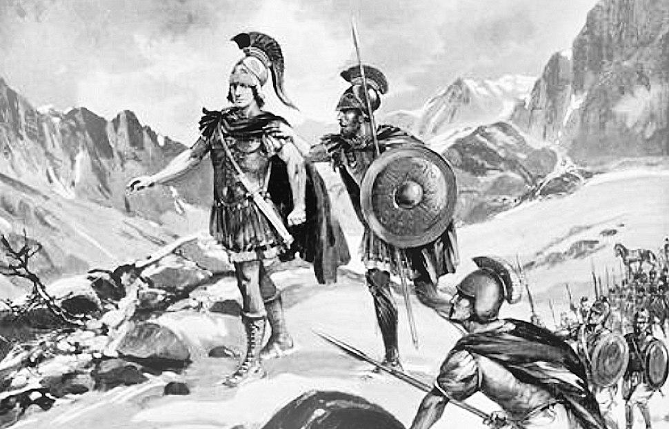 Alexander in Arachosia 329 BCE