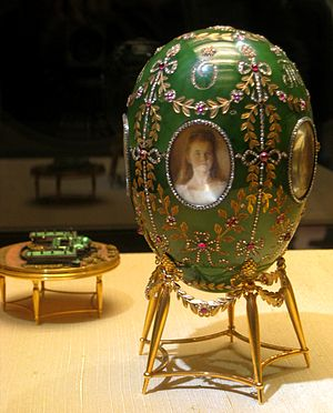 Alexander Palace (Fabergé egg) - Alexander Palace Egg