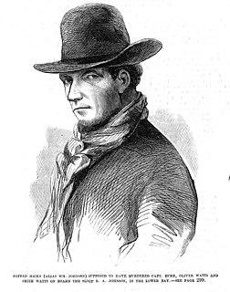 Albert W. Hicks American pirate