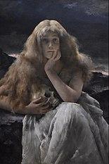 Alfred Stevens (1823–1906) - Maria Magdalena - 1887 - MSK Gent 17-03-2009 12-18-27.JPG