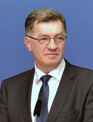 Lithuanian parliamentary election, 2016 - Image: Algirdas Butkevičius in Oct, 2014