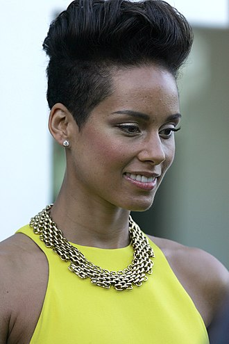 Alicia Keys - Keys at the 2013 ARIA Music Awards.