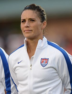 Ali Krieger - Ali Krieger with the United States national team in August 2014