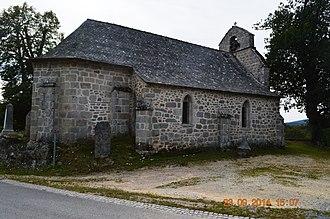 Alleyrat, Corrèze - The Church of Saint Pierre
