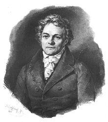 Alois Senefelder 1834 (Quelle: Wikimedia)