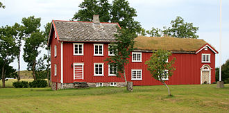 Alstahaug - The old parsonage at Alstahaug is protected