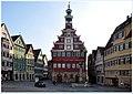 Altes Rathaus Esslingen, Rathausplatz und Randbebauung.jpg