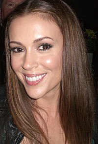 Alyssa Milano i september 2008