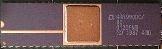 AMD Lance Am7990 - AMD Am7990DC from SGI IP6 motherboard.