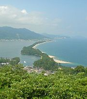 Amanohashidate vue du sud