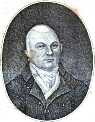 Benito Cereno - Amasa Delano's portrait. Frontispice from his A Narrative of Voyages, 1817.