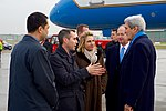 Ambassador Baer Speaks With Secretary Kerry Upon Arrival in Hamburg (31341208272).jpg