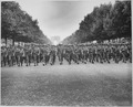 "American troops of the 28th Infantry Division march down the Champs Elysees, Paris, in the ""Victory"" Parade. - NARA - 531209.tif"