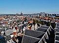 Amsterdam Oude Kerk Blick vom Turm aufs Dach 2.jpg