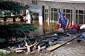 An American flag sits among the debris from the historic flooding in Minot, N.D., June 28, 2011 110628-A-LI073-075.jpg