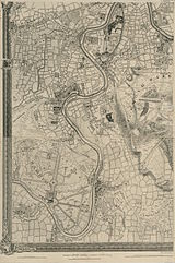 An Exact Survey of the citys of London Westminster ye Borough of Southwark and the Country near ten miles round (4 of 6).jpg