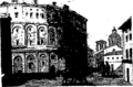 An historical description of ancient and modern Rome; also of the works of art Fleuron T117152-2.png