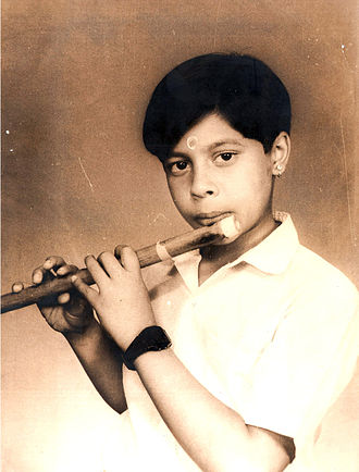Shashank Subramanyam - A young Shashank at his Eight – 1986