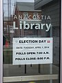 Anacostia library voting sign - 2014-04-01 (13567356234).jpg