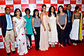 Ananya Banerjee, Schauna Chauhan, Neha Dhupia, Anita Dongre, Namrata Barua, Amrita Puri at '8th Annual Gemfields RioTinto Retail Jeweller India Awards 2012' meet 02.jpg