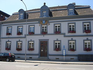 Saint-Louis, Haut-Rhin - Former town hall of Saint-Louis